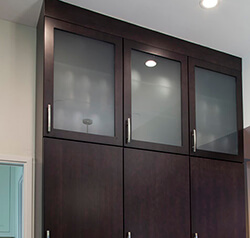 eclipse cabinetry - Glass Frame Doors